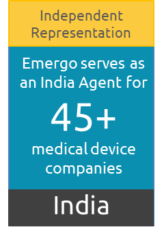 India Agent for over 45 medical device companies